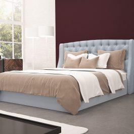 Łóżko tapicerowane Lux