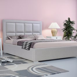 Łóżko tapicerowane Square