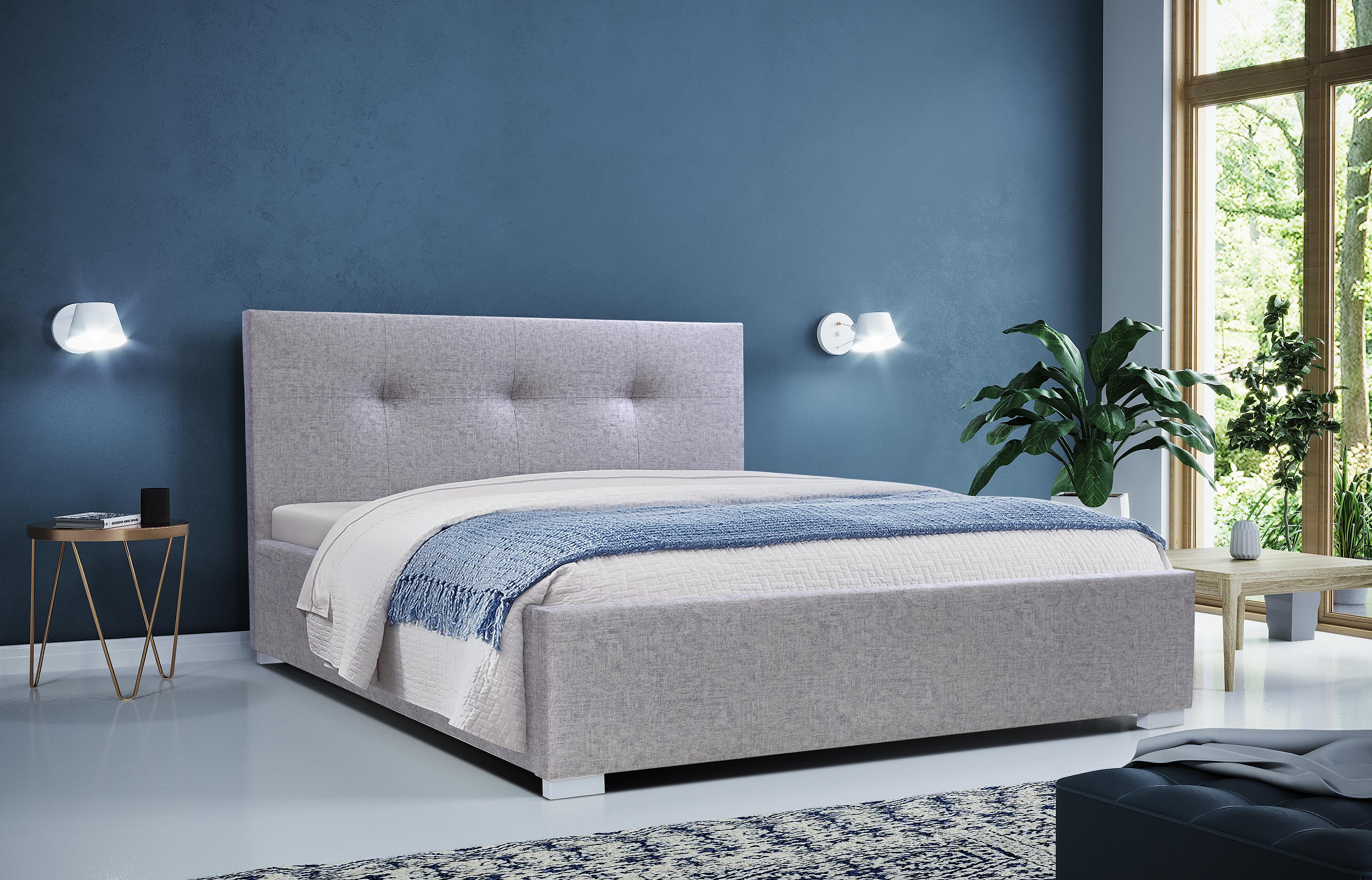 Dlaczego warto wybrać łóżka z tapicerowanym zagłówkiem?